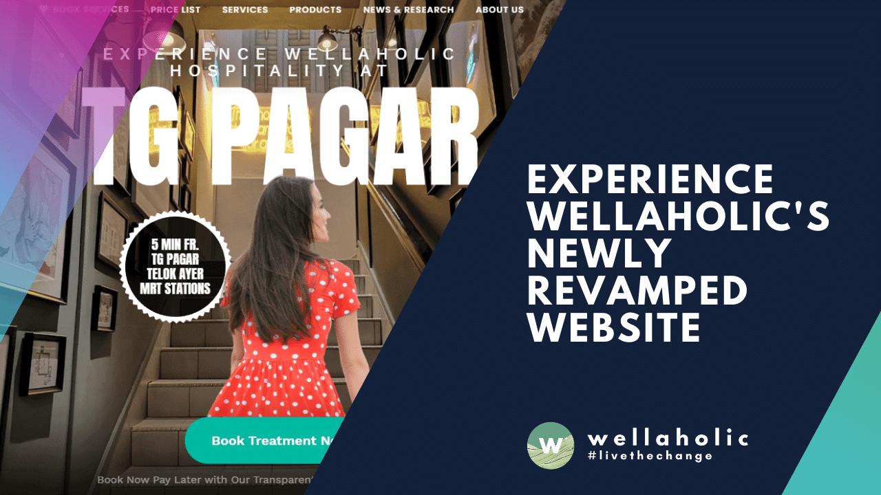 Wellaholic New Website