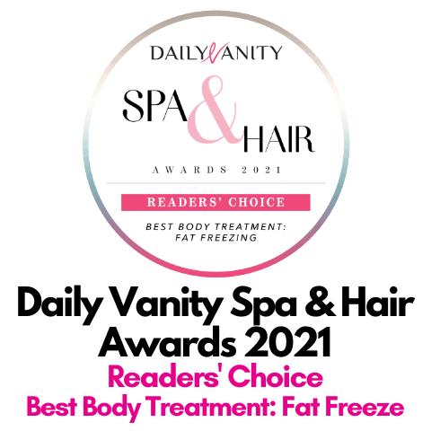 2021 Awards -DV 2021 Best Fat Freeze a