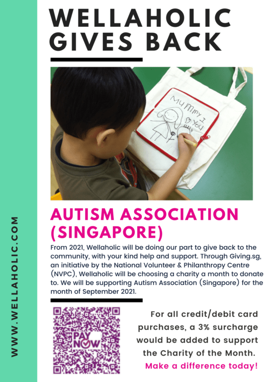 2021 Wellaholic Gives Back - Autism