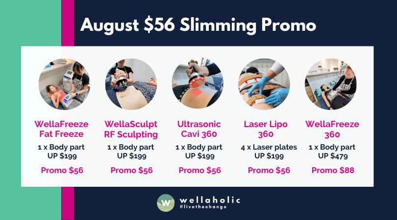 August $56 Slimming Promo