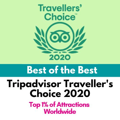Tripadvisor Traveller's Choice 2020
