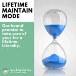 Wellaholic Service Labels (Square) - Lifetime